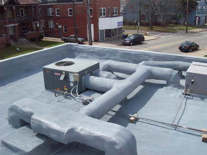 West Roofing Systems Commercial Roofing in Cleveland Ohio & Spray Polyurethane Foam (SPF) Roofing: Installation u0026 Performance ... memphite.com