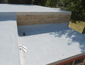 West Roofing Systems installs SPF Roofing