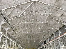 Ferrolux Facility After West Roofing Systems