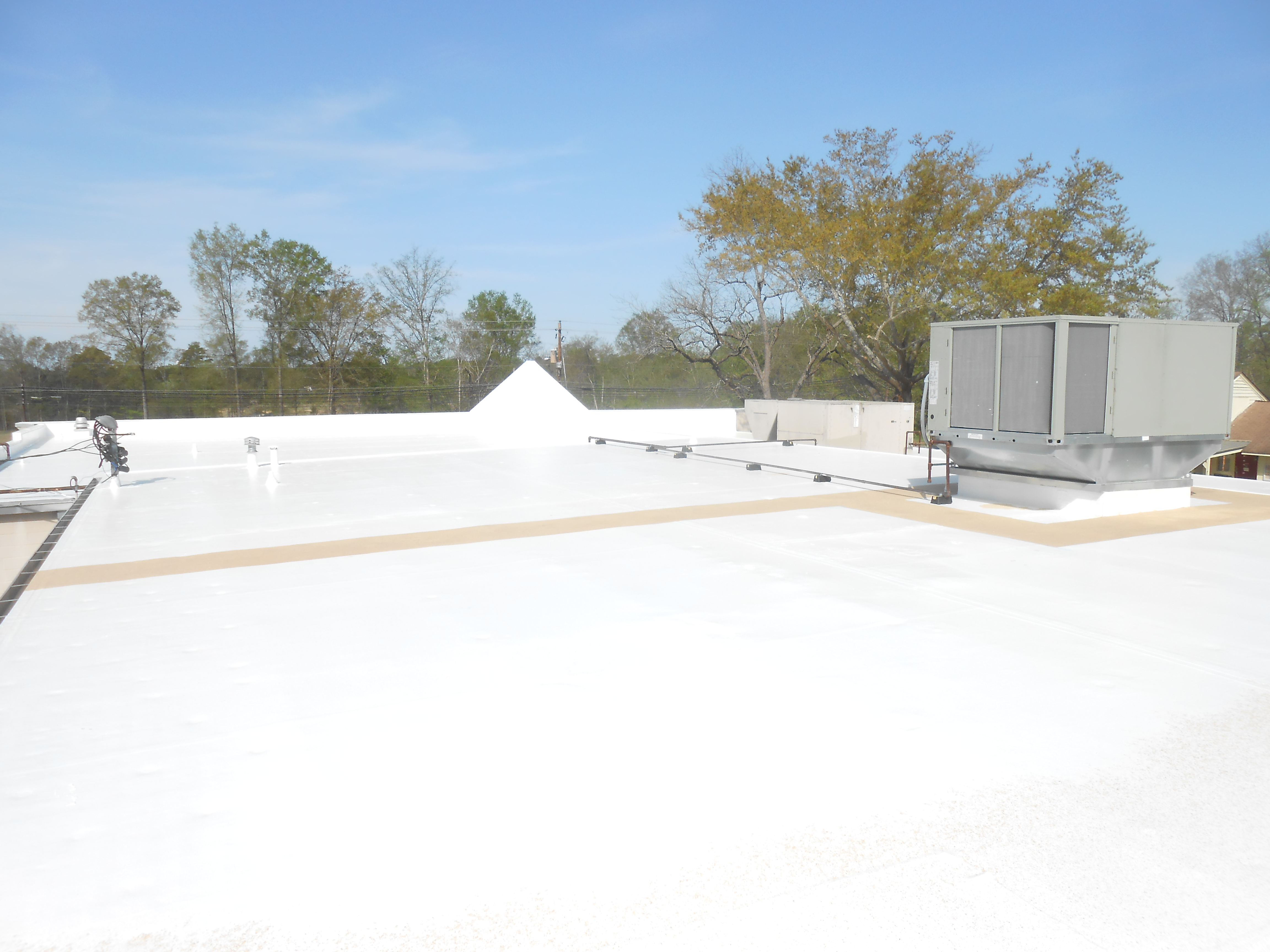 SRM on Commercial Roof