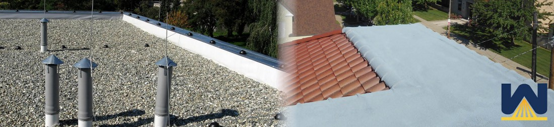 SPF vs Built Up Roofing