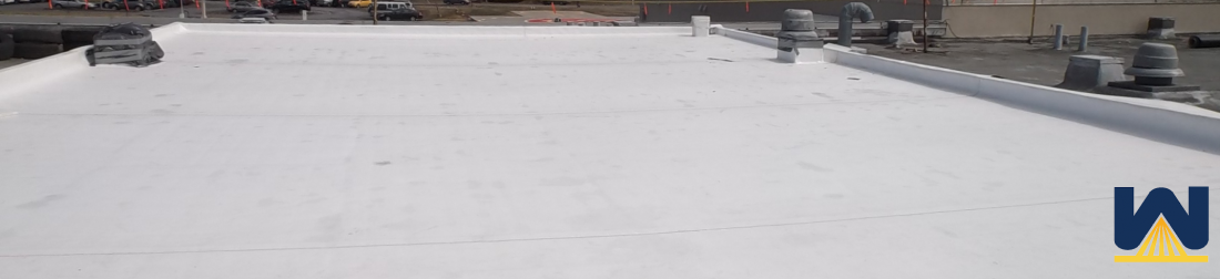 What is single ply membrane roofing?