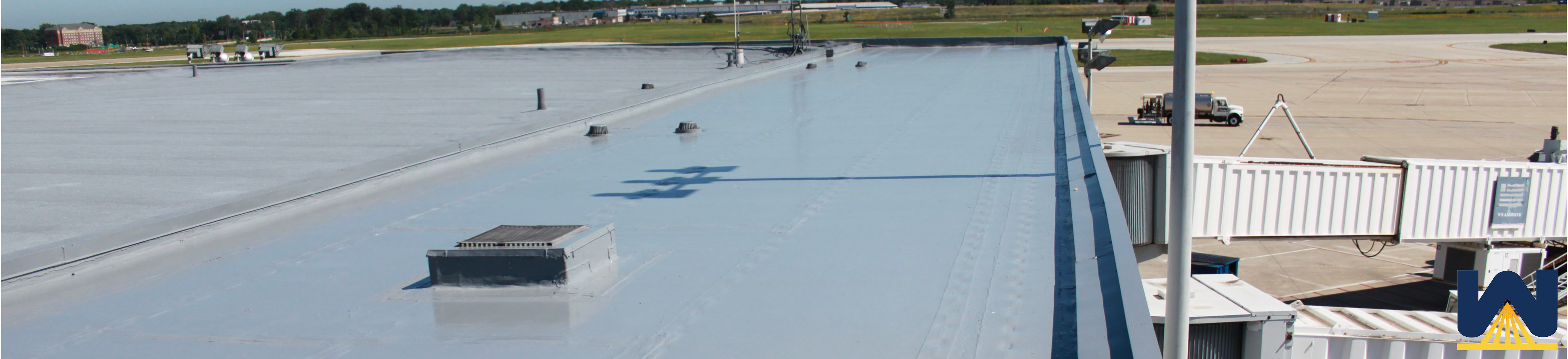 Roof Silicone Amp Silicone Roof Coating On A South Florida