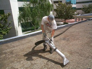 Problems with Tar and Gravel Commercial Roofs