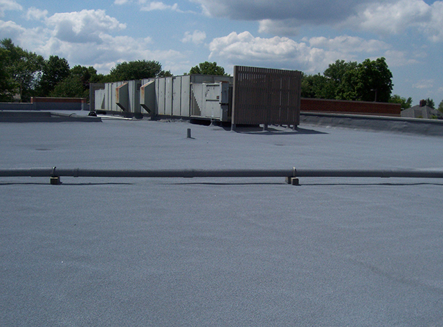 ... West Roofing Systems Installs SPF Roof On Dunlap Hospital Building ...