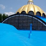 Central Ohio Church, West Roofing Systems installed new SPF roof