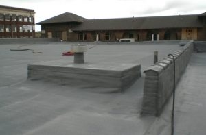 West Roofing Systems installs SPF Roof on Baker Electric Building