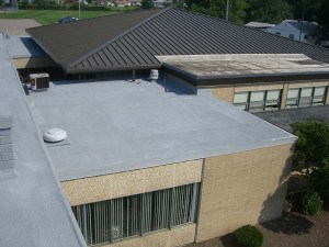 Spray Foam roof on Berea Municipal School District