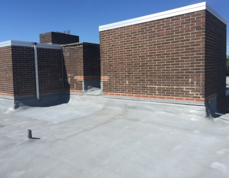 Commercial Roofing Gutters and Copings