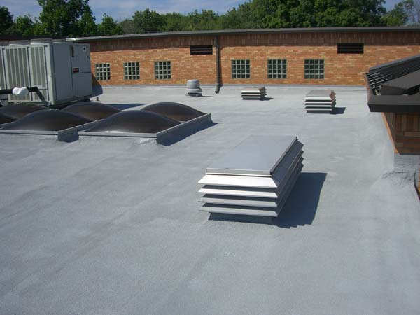... SPF Roofing With West Roofing Systems In Cleveland, Ohio ...