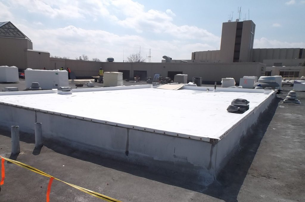 Single Ply Membrane Commercial Roofing Cleveland Ohio Commercial