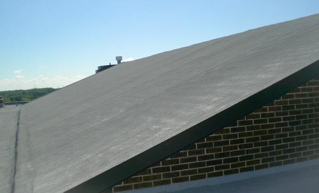 Steep slope roofing cleveland ohio commercial roofing for Cost of building on a steep slope
