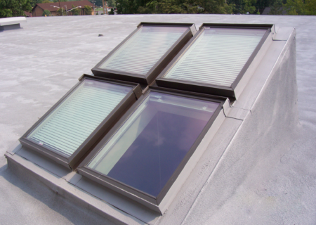 commercial roof skylights