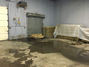 Warehouse Roof Leak