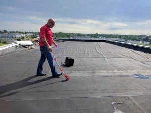 Commercial Roof Inspection or Survey