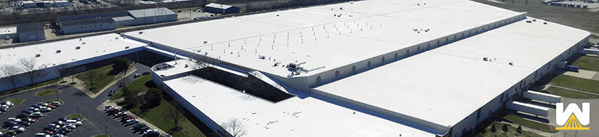 Commercial Roof Silicone Restoration Membrane - Pros and Cons to Roof Coatings