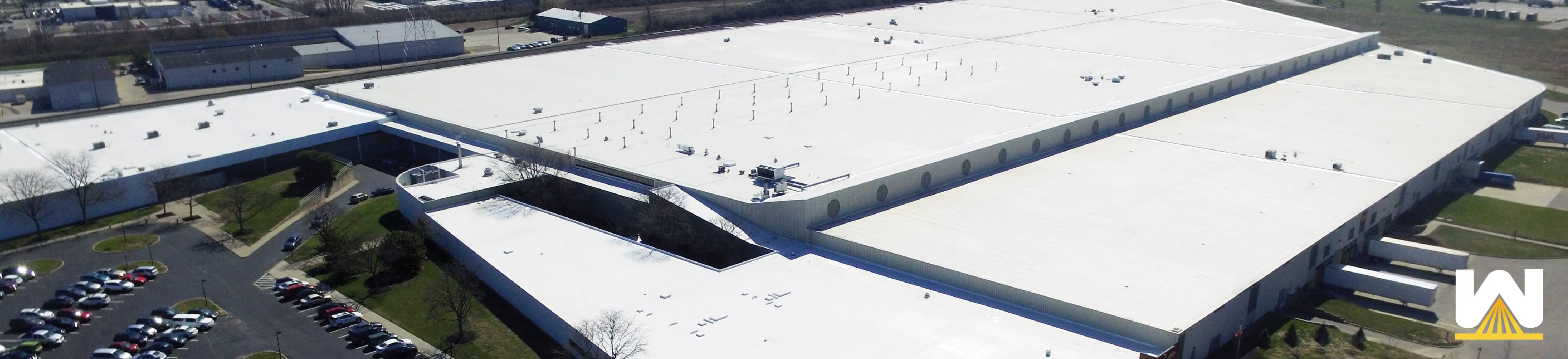 Commercial Roof Silicone Restoration Membrane: Pros And Cons To Roof  Coatings | Commercial Roofing Contractor, Cleveland Ohio