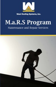 West Roofing Systems Maintenance and Repair Service