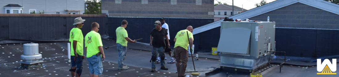 Single-Ply Membrane EPDM Roof Installation [Infographic]
