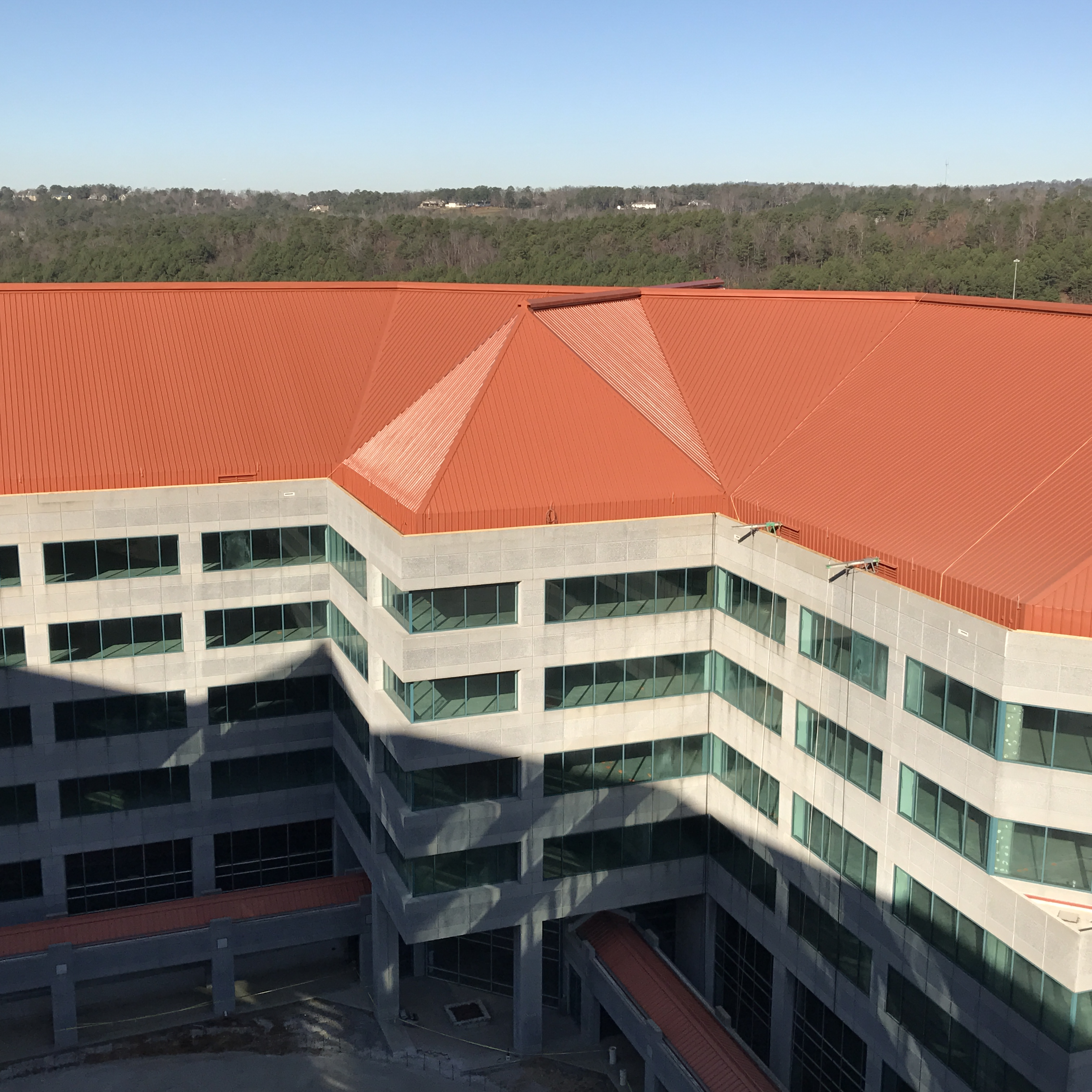 Colonnade Tower Commercial Roofing In Birmingham Alabama