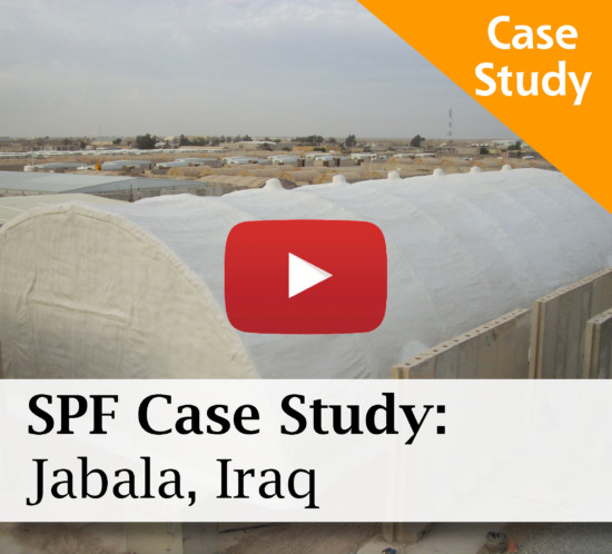 SPF Project Profile: Military Base in Jabala, Iraq