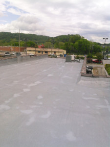SPF ROOF PROJECT PROFILE: BLACKSTONE PUB IN GADSDEN, ALABAMA