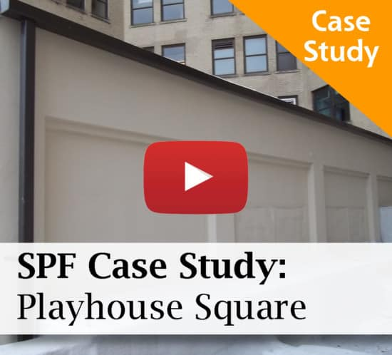 Playhouse Square SPF Roofing