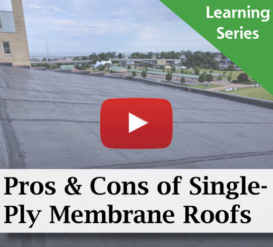 Pros and Cons of Single-Ply Membrane Commercial Roofing