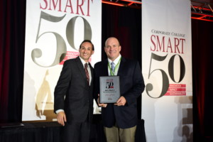 Jack Moore and Dustin S. Klein at the Smart 50 Award Ceremony