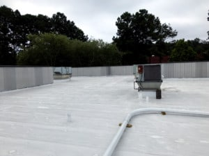 A silicone restoration membrane in Peachtree Corners, Georgia.