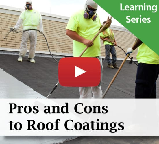Pros And Cons To Roof Coatings