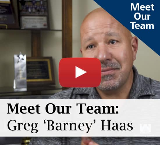 Meet The Team: Greg 'Barney' Haas