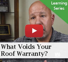 What Voids Your Roof Warranty