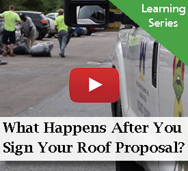 What Happens After You Sign A Roof Proposal?