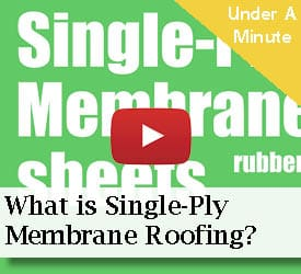 What is Single-Ply-Membrane Roofing?