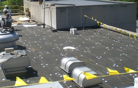 Coverboard used for spray foam roofing