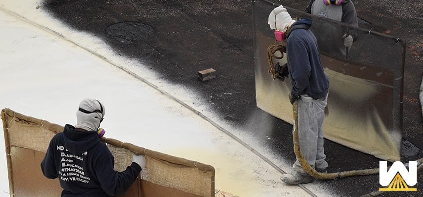 how much does spray polyurethane foam weigh