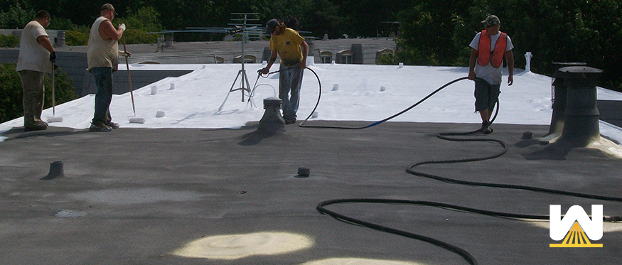 installing a temporary roof repair