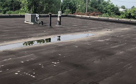 problems with single-ply roofing systems