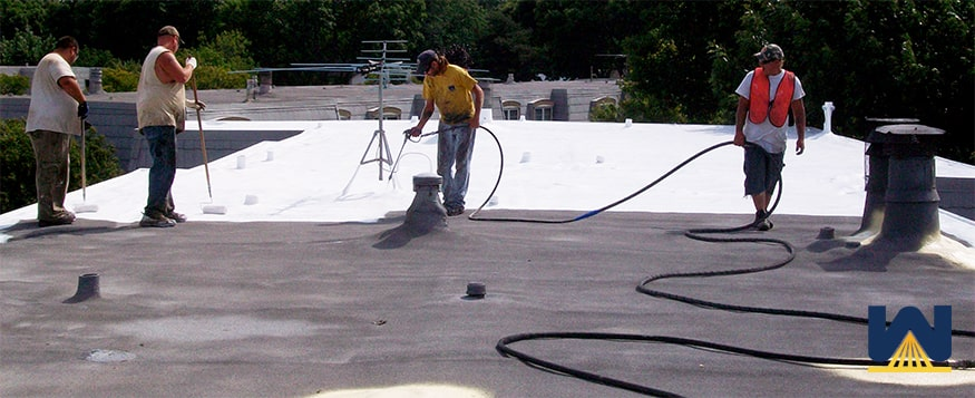renewing a spray foam roof