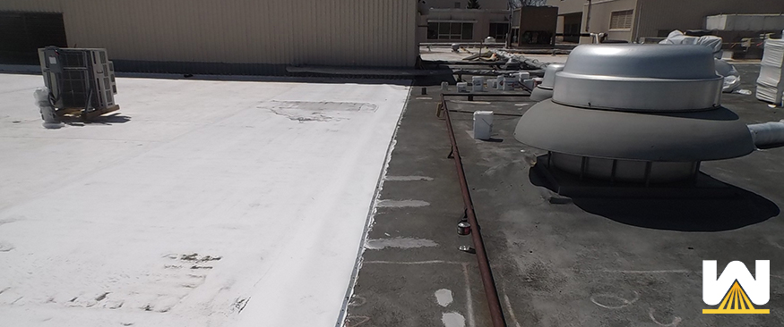 single ply roof - epdm and TPO