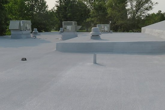 seamless roofing system