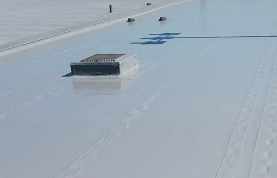 silicone roof coatings at cleveland hopkins airport