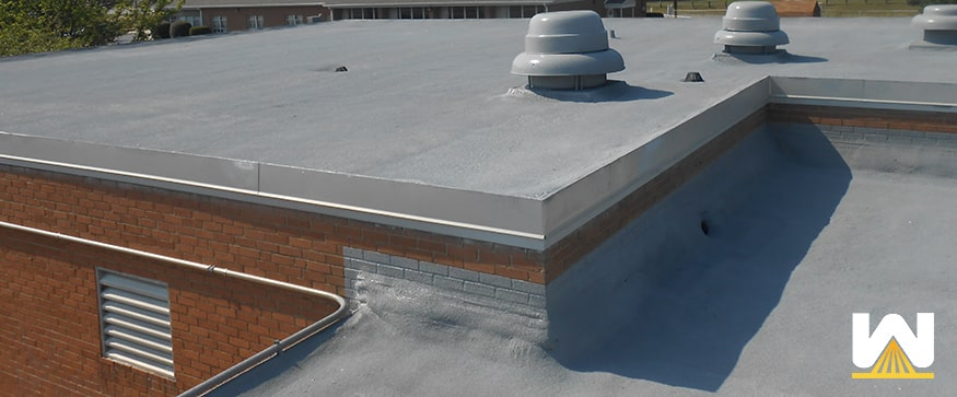 how does spray foam roofing work