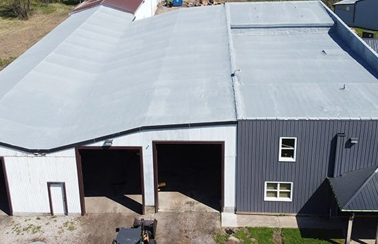 Re-roofing at Tree Services in Elyria, Ohio