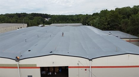 spray foam roof over existing EPDM-min