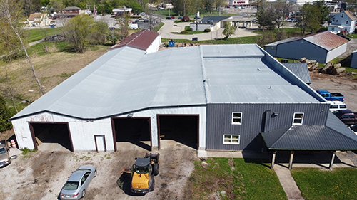 spray foam roof at Tree Services in Elyria, Ohio