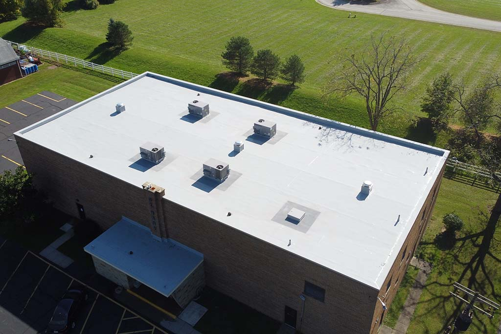 St. Mary's Church - Silicone Coating over EPDM - Wakeman, OH - 2021.JPG