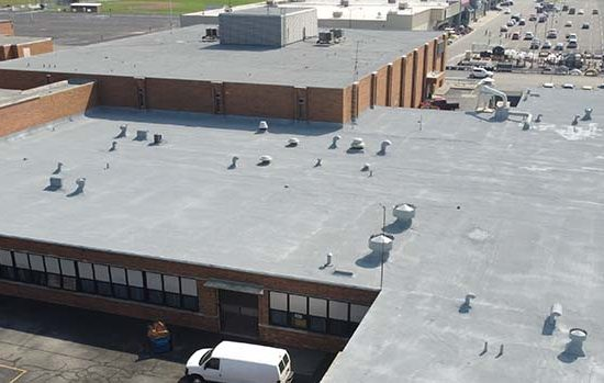 spray foam roof - used to cover roof leaks that are hard to find.JPG